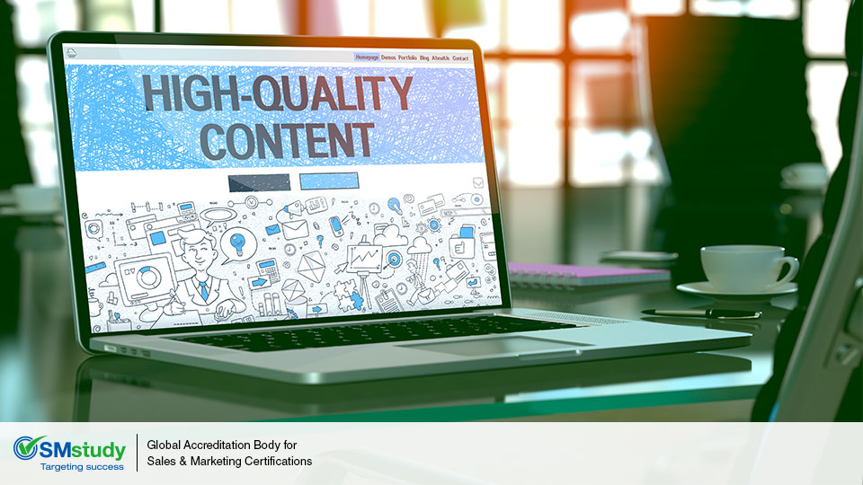 High-Quality Content: A MUST For Your Digital Marketing Strategy